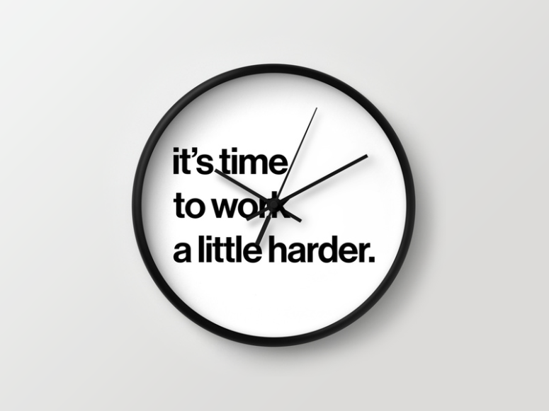 workharder_wall_clock_chmiel.png